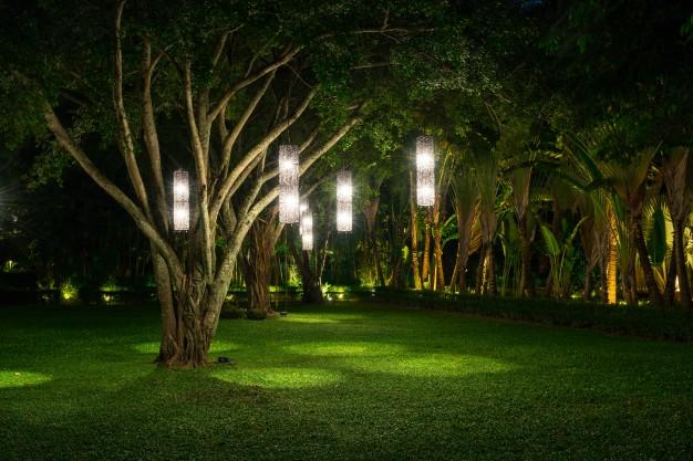udendoerslamper